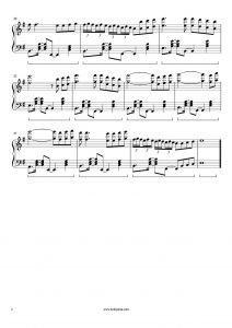 Ah İstanbul Piyano Notası