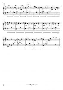 Drama Köprüsü - Piano Notası